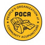 People's Organization of Community Acupuncture logo